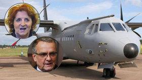 Miroslav Kalousek (TOP 09) se u soudu vyjadřoval ke kauze nákupu letounů CASA, kde exministryně obrany Vlasta Parkanová čelí obvinění