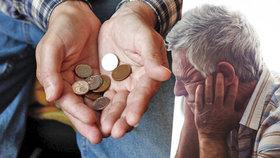 ČSSD žádá, aby se co nejdříve sešli poslanci a projednali zvýšení penzí. Důchody mají vzrůst od ledna. (ilustrační foto)