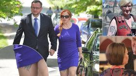 Má Jana Nečasová tetování na noze? Ministryně Šlechtová jich má více, netopýří kérkou zaujala i Ivana Zemanová.