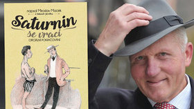 Miroslav Macek a kniha Saturnin se vrací