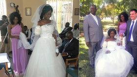 Mladá Zimbabwanka Zanele Ndlovuová-Foxová přišla pět dní před svatbou o ruku, zaútočil na ni krokodýl.