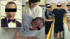 Tomáš se na Vánoce zřítil v Tatrách a přišel zde o sestru: Teď ukázal, jak ho nehoda poznamenala.