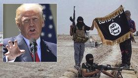 Trump oznámil zadržení 5 předáků ISIS.