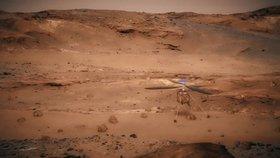 Vědci zjistili, že hluboko v půdě Marsu se nachází velké solné jezero, kde může existovat život.