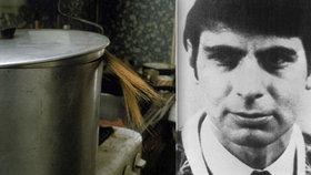 Masový vrah vařil kusy těl v hrnci a splachoval je do záchodu, teď v 72 letech zemřel.