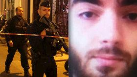 Takhle vypadal mladý Čečenec, který v Paříži jednoho člověka ubodal a další čtyři zranil.