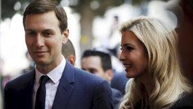 Ivanku Trump do Izraele doprovodil manžel Jared Kushner