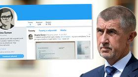 Skupina Šuman se proslavila zveřejněním nahrávek, na kterých má figurovat Andrej Babiš (ANO). Nahrávky se týkají článků v médiích ovládaných Babišem a namířených proti politické konkurenci, nebo například likvidace firmy FAU.