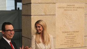 USA oficiálně otevřely americkou ambasádu v Jeruzalémě (14. 5. 2018).