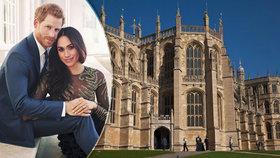 Princ Harry a Meghan Markle se vezmou v sobotu 19. května 2018.