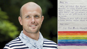 Šéf kampaně Jsme fér se během sčítání podpisů často dojímal, nakonec ale mohl slavit, na petici za férové manželství se jich sešlo skoro 70 tisíc.