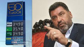 CNG na stanicích EuroOil pochází od firmy Martina Nejedlého