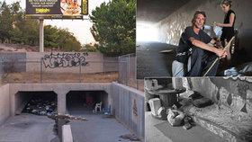 Krysí lidé: Pod útrobami Las Vegas žijí v kanálech stovky bezdomovců.