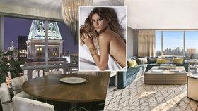 Supermodelka Gisele Bündchen prodává luxusní byt s výhledem na Empire State Building za 300 milionů!