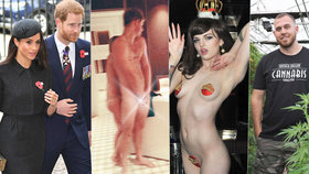 Černé ovce královské rodiny: Ke striptérce či naháčovi Harrymu přibude pěstitel trávy a násilník!