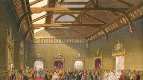 Svatby se v kapli svatého Jiří ve Windsoru odehrávaly i v historii.