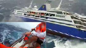 Dokumentární film zobrazuje katastrofické události na výletních lodích.