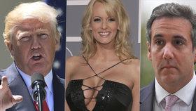Trump svému právníkovi vyplatil peníze za mlčení pornoherečky Stormy Daniels.