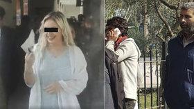 Advokát obviněného Shoaiba (vpravo) označil Terezino svědectví za nespolehlivé.