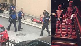 Policie zatkla dvojici v kostýmech superhrdiny. Myslela, že jsou to teroristé
