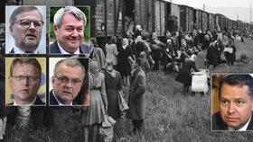 Část českých politiků považuje Benešovy dekrety za překonané