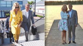 Monika Babišová doprovodila Andreje Babiše na oficiální návštěvu Finska.