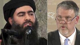 Vůdce ISISu Bagdádí není mrtvý, ale skrývá se a snaží se obnovit chalífát, tvrdí americké tajné služby.