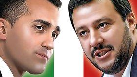 Luigi di Maio a Matteo Salvini