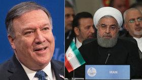 Americký ministr zahraničí Mike Pompeo představil novou razantní politiku vůči Íránu