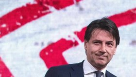 Kandidát na italského premiéra Giuseppe Conte.