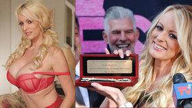 Pornoherečka Stormy Daniels oslavila v Hollywoodu svůj den