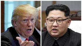 Červnový summit mezi Kim Čong-unem a Donaldem Trump se zřejmě neuskuteční.