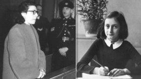 Vyzradila úkryt Anny Frankové židovská kolaborantka Ans van Dijková?