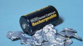 Kadmium najdete mimo jiné v bateriích nebo bižuterii. (Ilustrační foto)