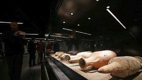 Řím se může pochlubit unikátem - muzeem na stanici metra