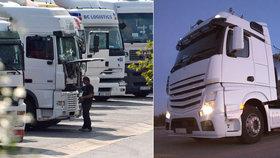 Řidiče v Jihlavě usmrtil jeho nezajištěný nákladní vůz (ilustrační foto)