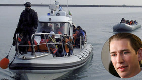 Podle Kurze by měl Frontex operovat i na území Afriky