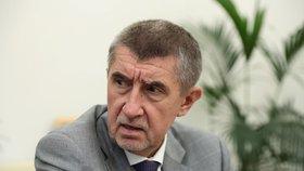 Předseda hnutí ANO a premiér v demisi Andrej Babiš v rozhovoru pro Blesk.