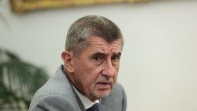 Předseda hnutí ANO a premiér v Andrej Babiš (ANO) v rozhovoru pro Blesk