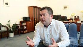 Jan Hamáček (ČSSD) v rozhovoru pro Blesk