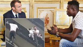 Mamoudou Gassama by přivítán v Elysejském paláci francouzským prezidentem.
