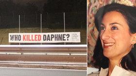 Lidé v čele s rodinou zavražděné novinářky Caruanové Galiziové se dožadují spravedlnosti.
