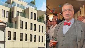Karel Schwarzenberg staví v srdci Prahy budovu za 100 milionů!