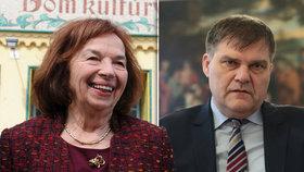 Bývalá první dáma Livia Klausová Slovensko opustila. Rudolf Jindrák sem z Hradu možná dorazí.