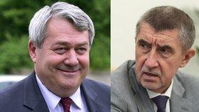 Šéf komunistů Vojtěch Filip a premiér v demisi Andrej Babiš (ANO) už si u armádních misí notují.