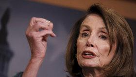Vůdkyně demokratických poslanců ve Sněmovně reprezentantů USA Nancy Pelosiová