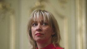 Mluvčí ruského ministerstva zahraničí a diplomatka Marija Zacharovová