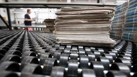Největší distributor novin kupuje firmu Mediaservis, antimonopolní úřad transakci povolil.