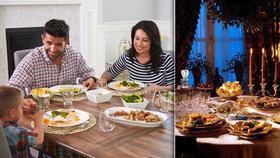 Večeře v českých rodinách