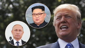 Bílý dům prý plánuje setkání s Putinem. Schůzka s Kim Čong-unem je ale přednější